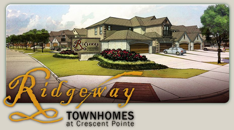 Ridgeway Townhomes at Crescent Pionte, College Station, Tx